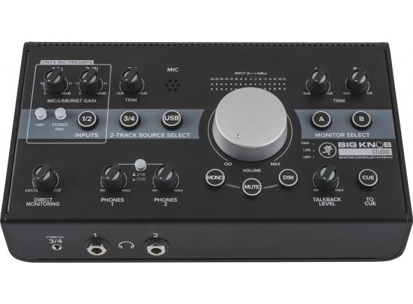 Controladores de estudio / monitor Mackie Big Knob Studio