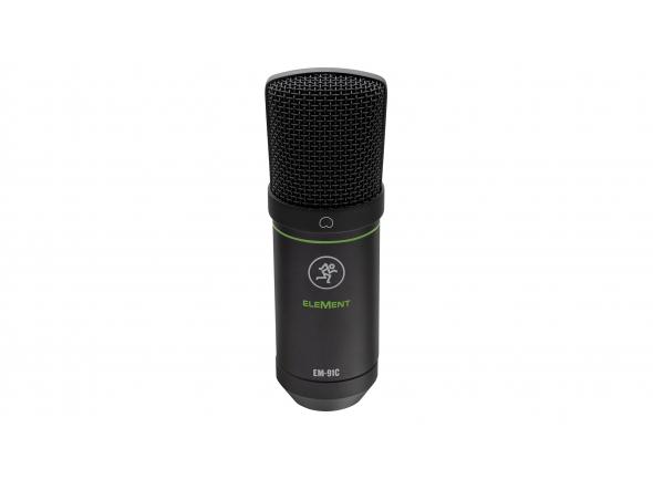 Micrófono de diafragma grande Mackie EM-91C