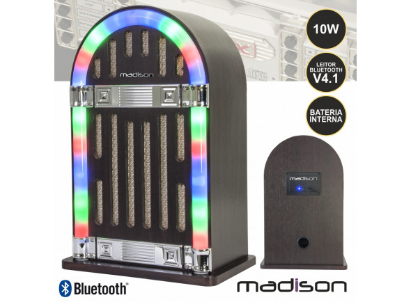 Sistemas de baterías portátiles Madison  MAD-JUKEBOX10