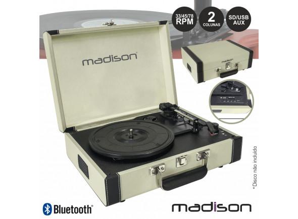 Tocadiscos Madison  MAD-RETROCASE-CR