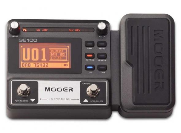 Pedales de guitarra electrica Mooer GE100 Box Guitar Multi FX