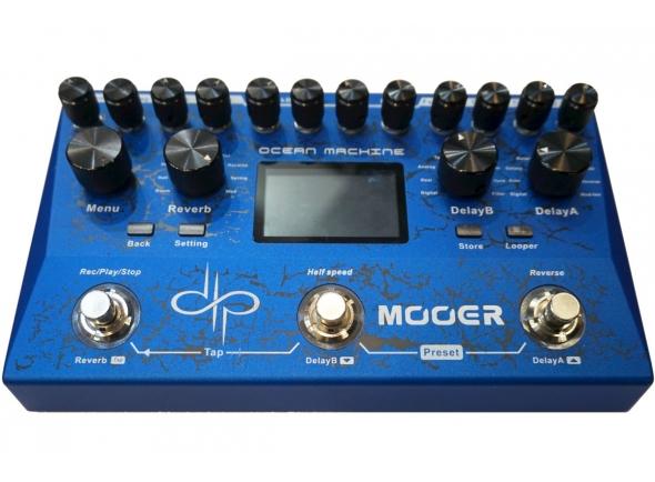 Reverb y efectos Hall Mooer Ocean Machine