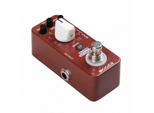 Otros efectos para guitarra electrica Mooer Pure Octave