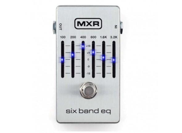 Ecualizadores MXR 6 Band Equalizer Silver M109S
