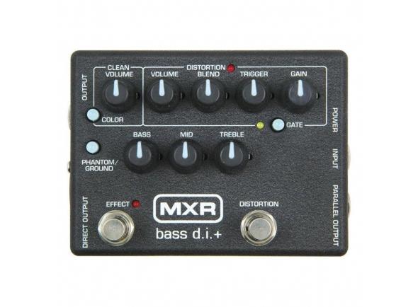 Pedales MXR M80 Bass Di Plus