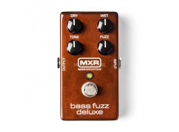Pedal de distorsión MXR M84 Bass Fuzz Deluxe