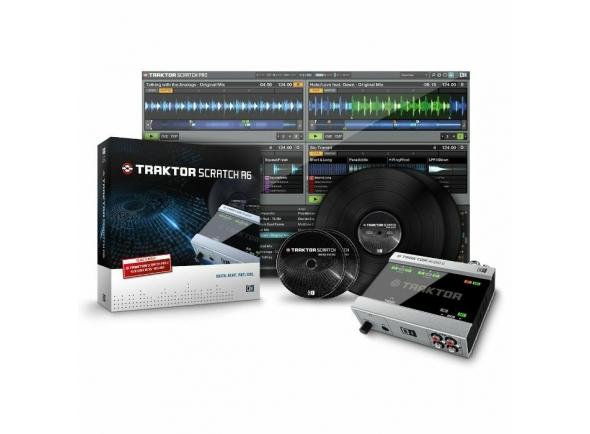 Interfaz de audio USB Native Instruments Traktor Scratch A6