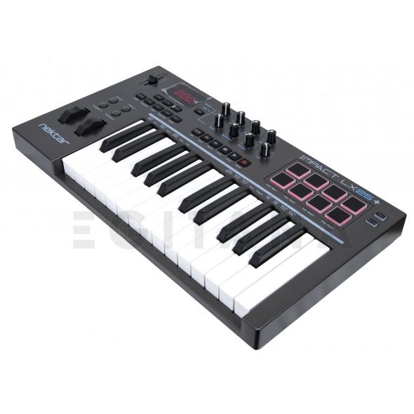 Controladores de teclados MIDI Nektar Impact LX25+