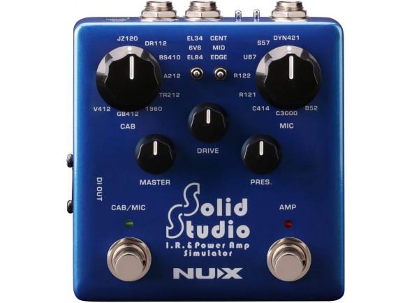 Otros efectos para guitarra electrica Nux   Solid Studio IR & Pow Amp Sim