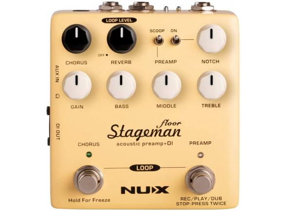 Efectos de guitarra acústica Nux   Stageman Floor Preamp