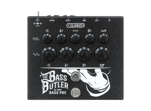 Otros efectos para guitarra electrica Orange Bass Butler Bi-Amp Preamp Pedal