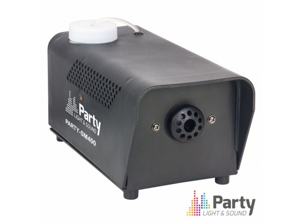 Máquinas de Fumo Party Light & Sound 400W PRETA