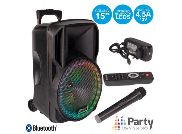 Sistemas de baterías portátiles Party Light & Sound PARTY-15RGB