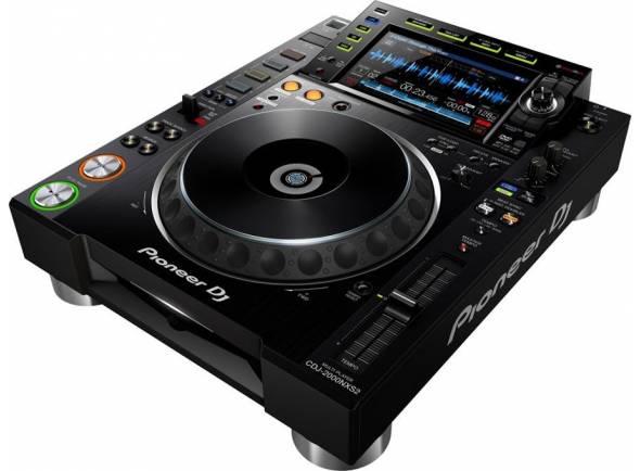Reproductor de CD simple Pioneer DJ cdj 2000 NXS2 Nexus 2