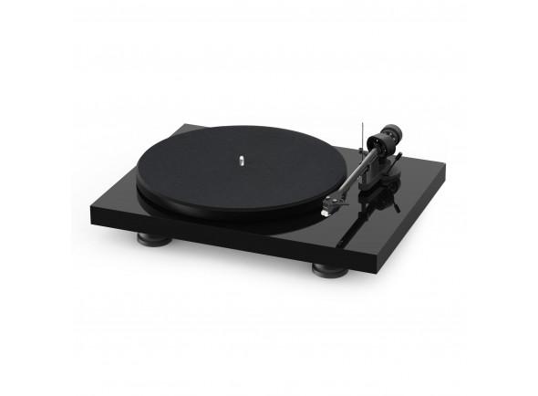 Gira-discos2 Project Debut Carbon Evo High Gloss Black