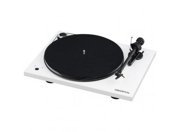 Gira-discos de alta fidelidade Project Essential III Speed Box Branco