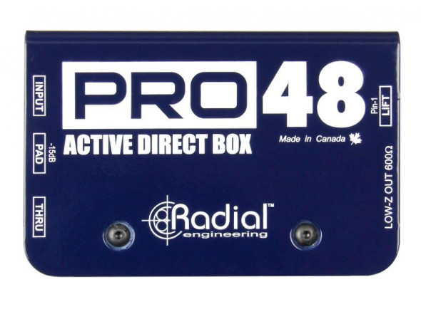 Cajas DI Radial Engineering Pro 48