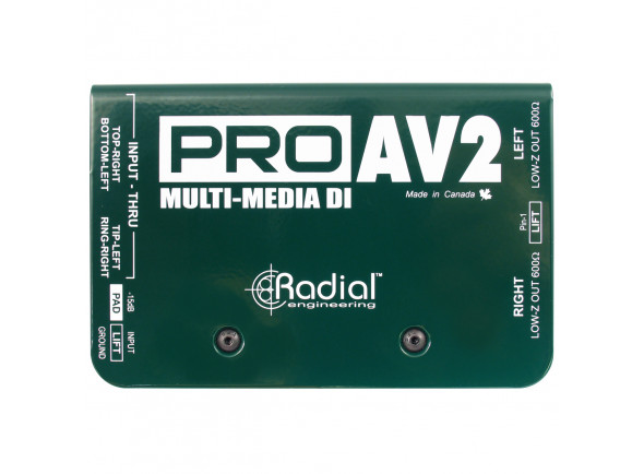 Cajas DI Radial Engineering Pro AV2