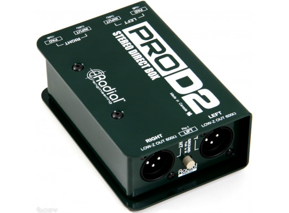 Cajas DI Radial Engineering Pro D2