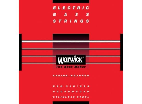 Juego de cuerdas .045 para bajo eléctrico de 5 cuerdas Warwick 42301 M Red Label