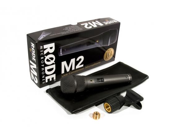 Micrófono vocal de condensador Rode M2