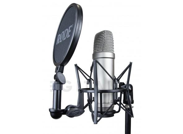 Micrófono de diafragma grande Rode NT1-A Complete Vocal Recording B-Stock