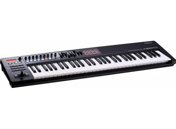 Controladores de teclados MIDI Roland A-800PRO Teclado Controlador MIDI 61 teclas Premium