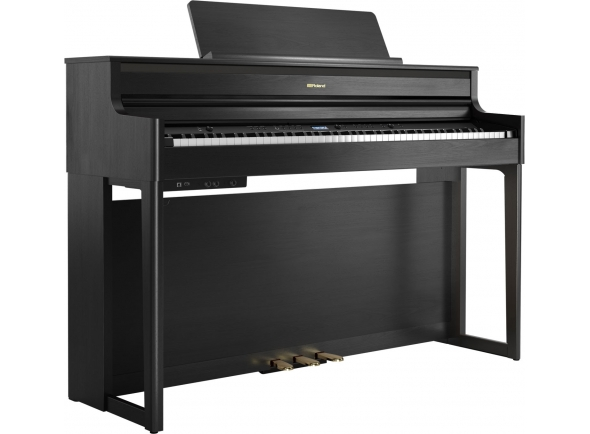 Pianos digitales para muebles Roland HP704 CH Charcoal Black
