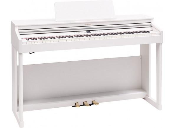 Pianos digitales para muebles Roland RP701 WH Satin White