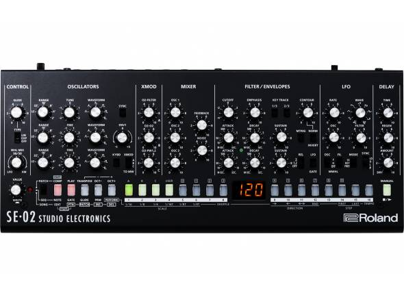 Sintetizadores Roland SE-02 Sintetizador Analógico Studio Electronics BOUTIQUE