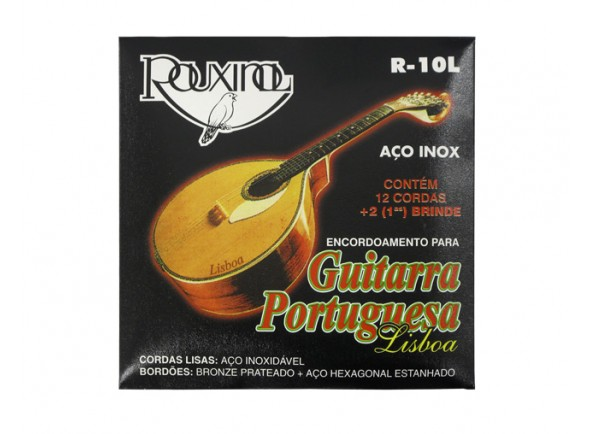 Juegos de cuerdas para guitarra portuguesa Rouxinol Jogo de Cordas Guitarra Portuguesa R10L Lisboa