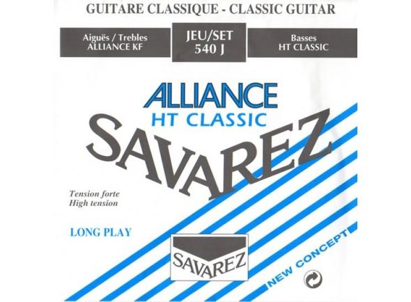 Juegos de cuerdas para guitarra clásica Savarez 540J