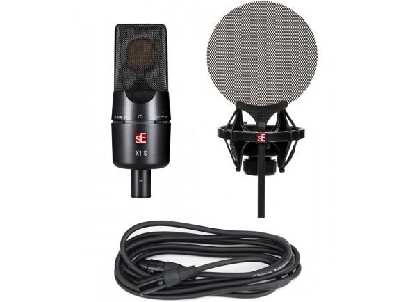 Micrófono de diafragma grande SE Electronics X1S Vocal Pack