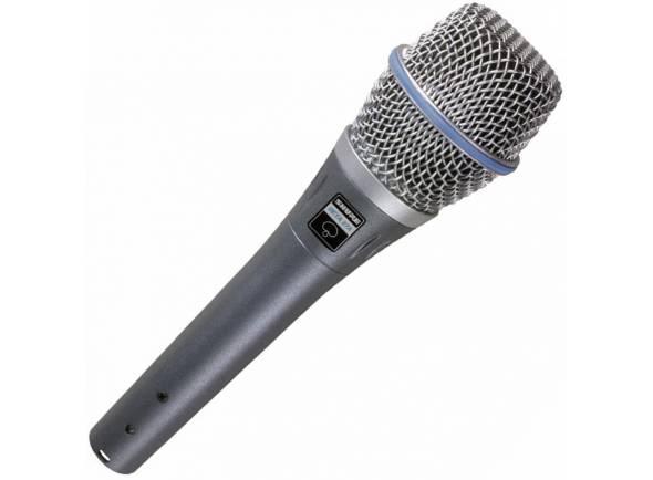 Micrófono vocal de condensador Shure Beta 87A
