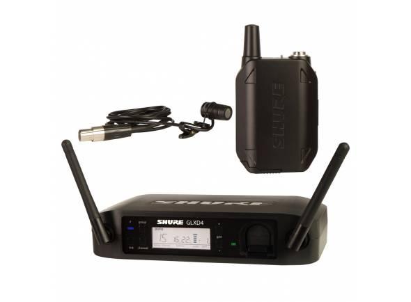 Sistema inalámbrico con micrófono de solapa Shure GLXD14/85 Z2