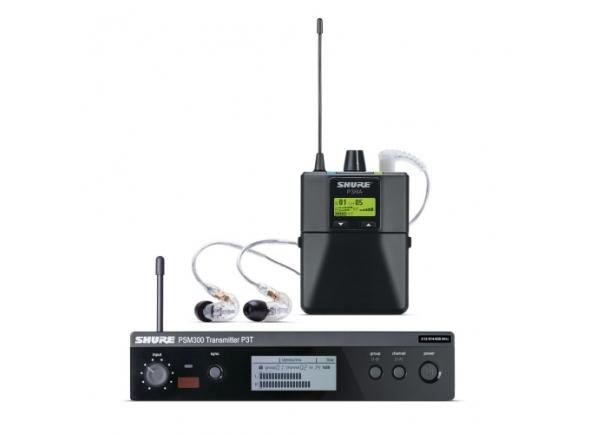 Monitoreo inalámbrico en el oído Shure p3tera215cl-l19
