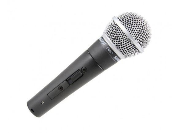 Micrófono vocal dinámico Shure SM58S