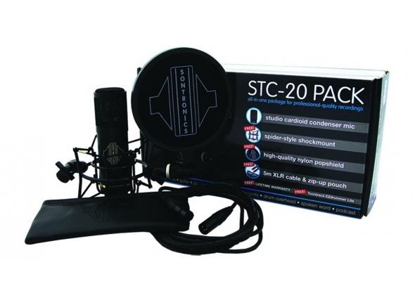 Micrófono de diafragma grande Sontronics STC-20-Pack