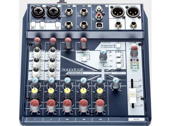 Mezclador analógico Soundcraft Notepad-8FX