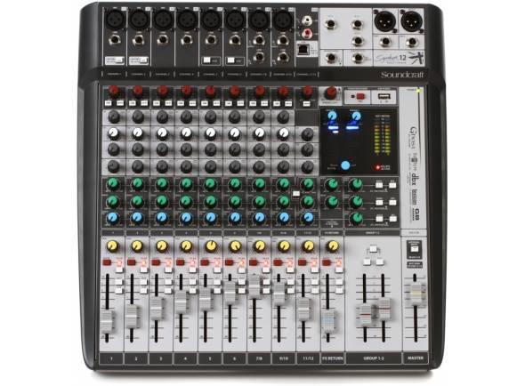 Mezclador analógico Soundcraft Signature 12MTK