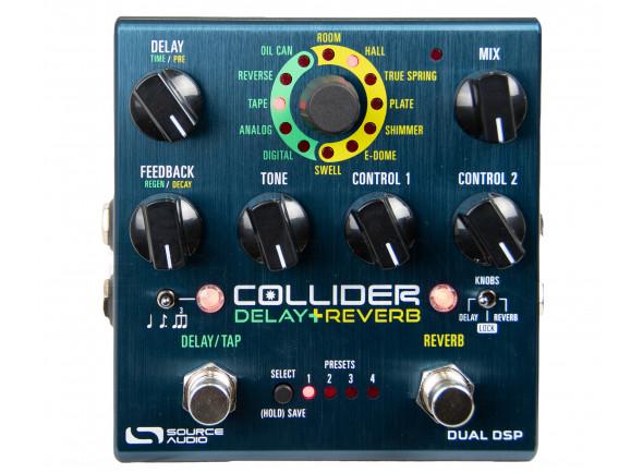 Retrasos / Ecos Source Audio  SA 263 Collider Delay+ Reverb
