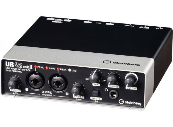 Interfaz de audio USB Steinberg UR22 MK2