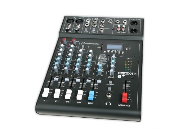 Mezclador analógico Studiomaster Club XS 6+