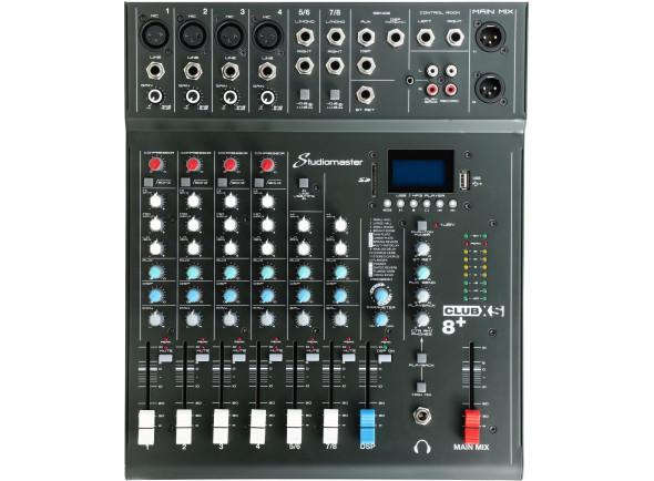 Mezclador analógico Studiomaster Club XS 8+ B-Stock