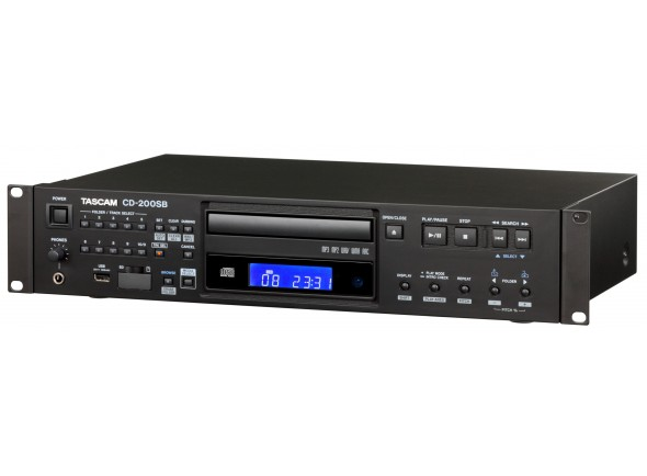 Reproductor de CD simple Tascam CD-200 SB