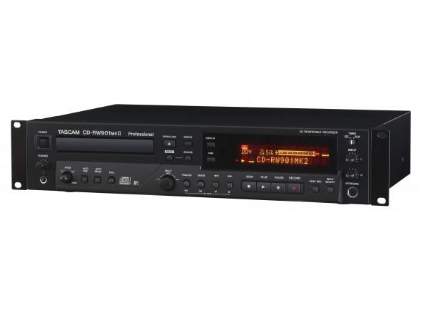 Grabadoras digitales Tascam CD-RW 901 Mk2