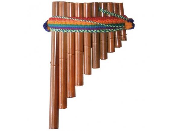 Flauta PAN Terre Flauta Pan Peru 10 Tubos