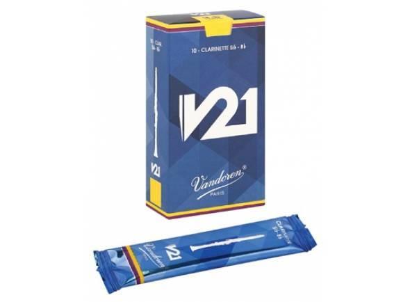 Cañas De Clarinete Vandoren V21 3,5 Bb-Clarinet