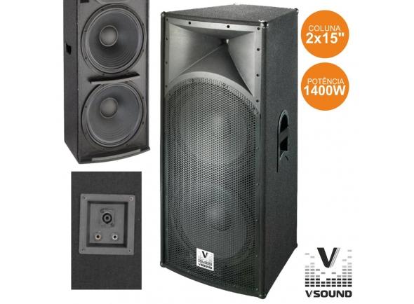 Oradores pasivos VSOUND VSS215 2X15