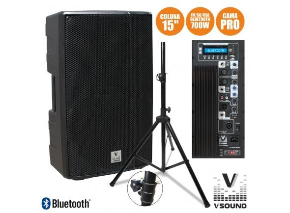 Altavoces amplificados VSOUND VSSPRO15APUSB-PAC